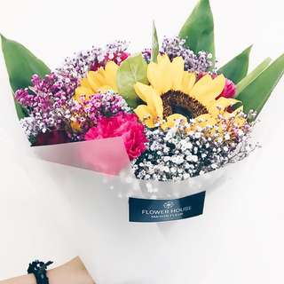2s sunflower bouquet