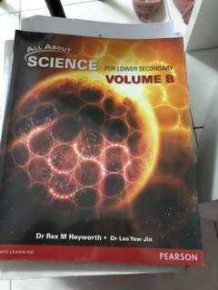 Secondary 2 science textbook