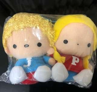 Sanrio Patty & Jimmy P&J 一對(全新)