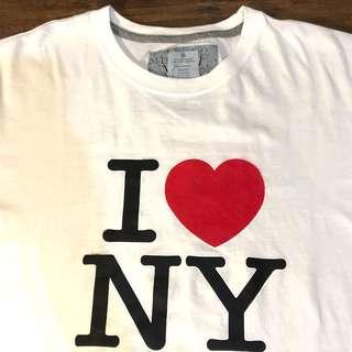 I LOVE NY T'shirt