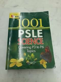Casco 1001 PSLE science p1 to p3