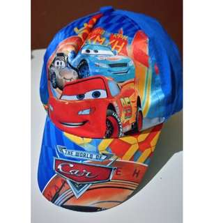 Lightning Mcqueen Kids Hat