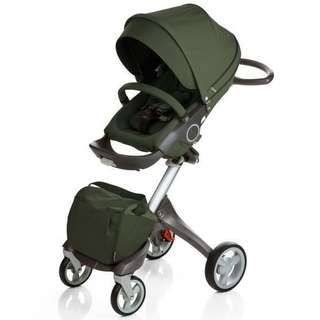 Stokke 2010 XPLORY Basic Stroller in Green