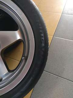 2nd hankook ventus v12 195 50 15