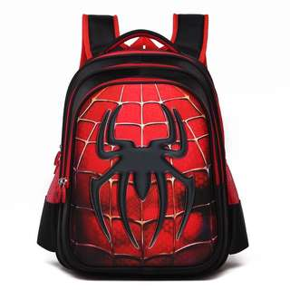 Brand new big 3D Spiderman school bag for sale