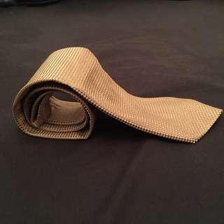 Marks & Spencer London Gold Tie 金色領帶