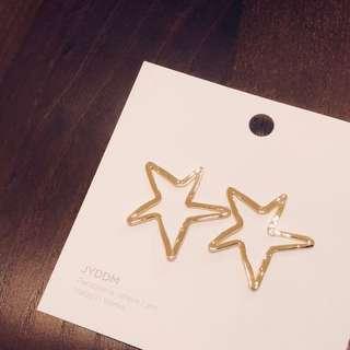 韓國 JYDDM 星星耳環