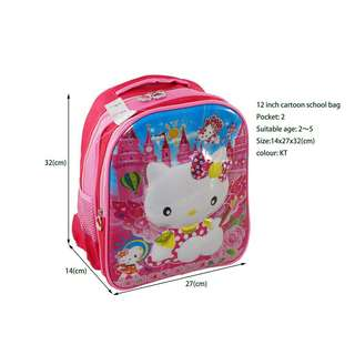 12inches Cartoon Backpack