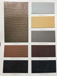 Wall covering / healthcare / wallpaper / Laminates / sample / material sample / interior design / material board / timber / wood / metal