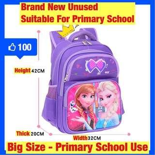 Brand new big Frozen school bag for sale