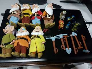 Very Nice Detail 7 Dwarf Disney Snow White Classic Collectables Vintage4