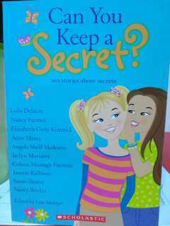 Can you key a secret? Children Books