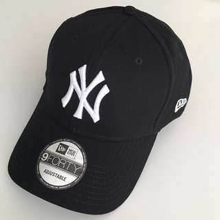 New Era 9Forty NY Black Cap 帽 NYcap帽 現貨 黑色 鴨咀帽