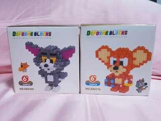 Tom & Jerry set nano block