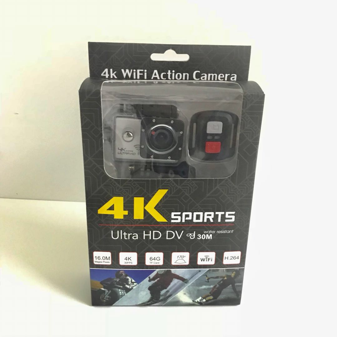 4k Wifi Waterproof 16mp Ultra Hd Action Camera With Remote Sportcam 16 Mp 1080p Photo