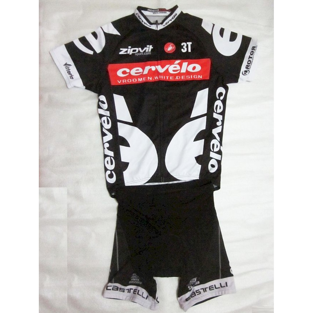 CerVeLo CyCLing  BiCyCLe   Bike JerSeY SeT by CASTELLi OnLy  148 ... fb0ed673a