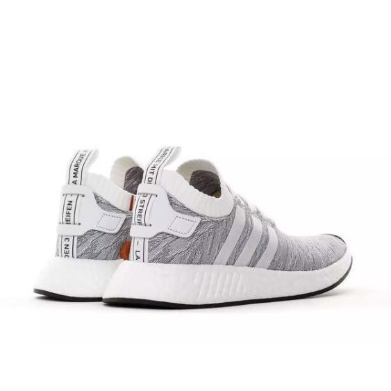 promo code 683cf 84e6e Adidas NMD R2 PK BY9410 (Grey), Men's Fashion, Footwear on ...