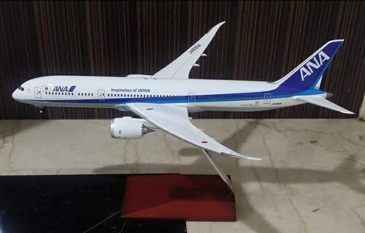 ANA Boeing 787 model