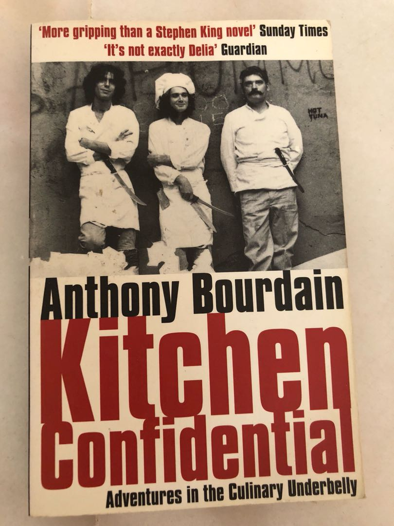 Anthony Bourdain Kitchen Confidential, Books U0026 Stationery, Fiction On  Carousell Good Looking