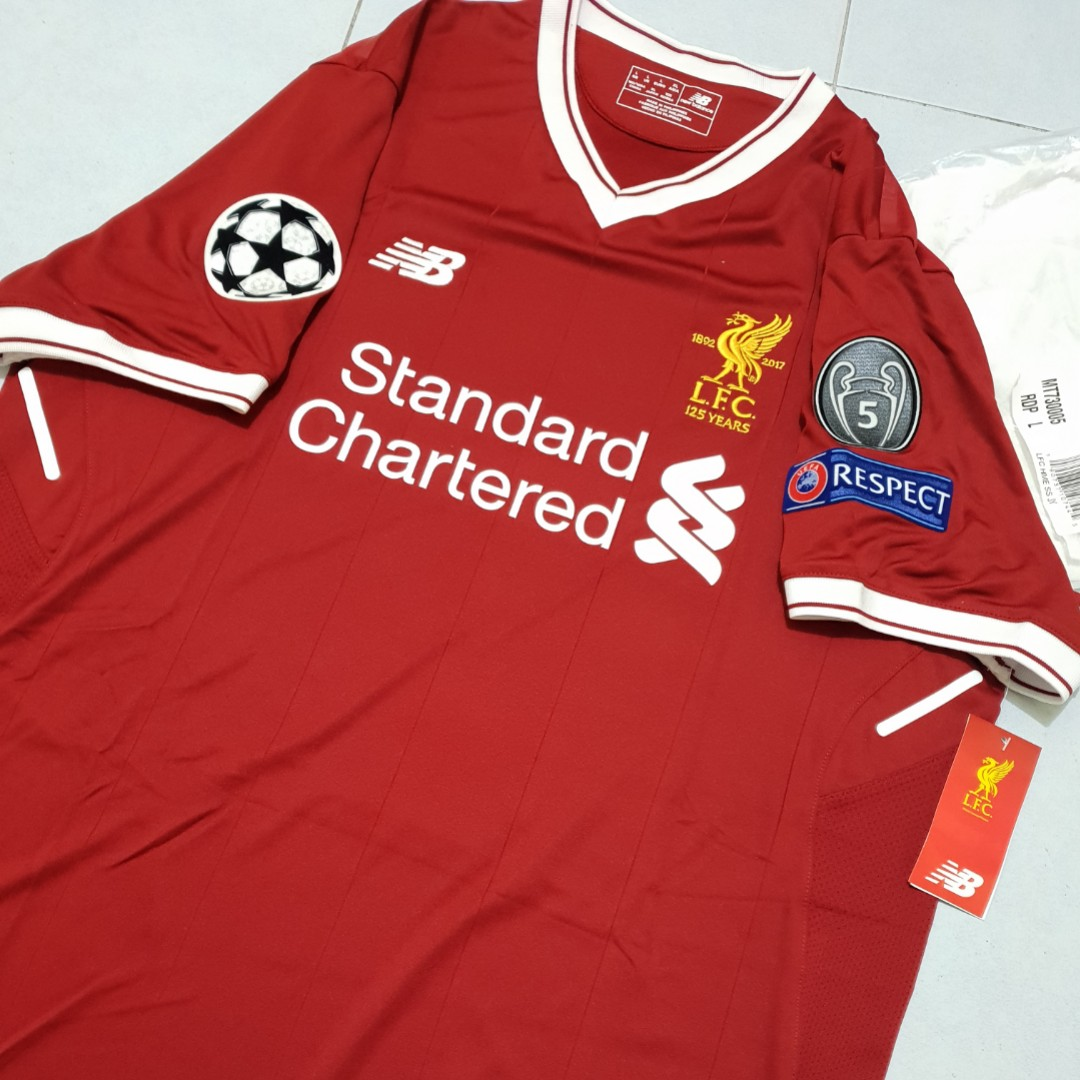 official photos e564a 987eb Liverpool Champions League Polo Shirt