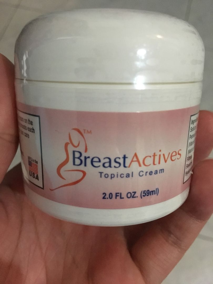 Brand New Sealed Breast Actives All Natural Breast Enhancement
