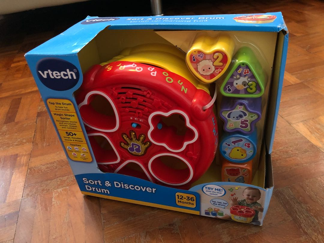 Brand new Vtech sort and discover drum