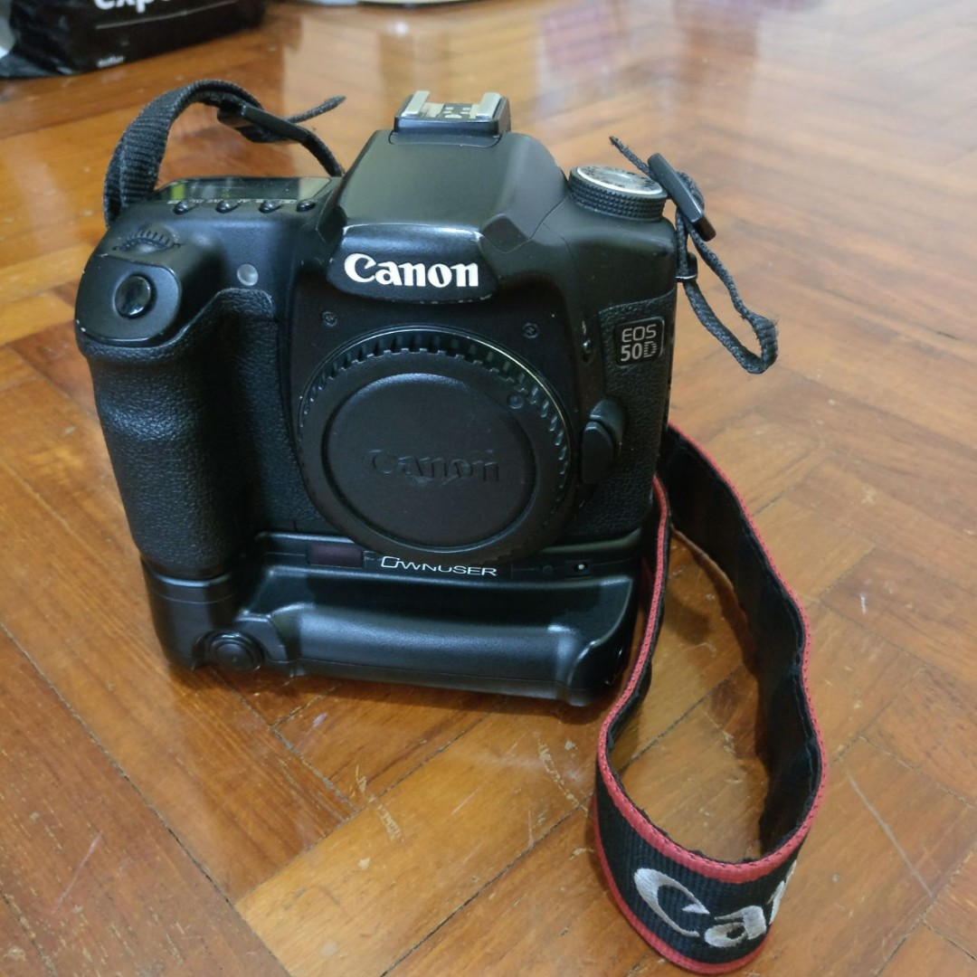 Canon 50D Camera Set, Photography on Carousell