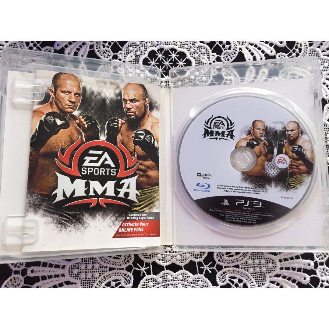 Ea Sports Mma Ps3 Toys Games Video Gaming Video Games