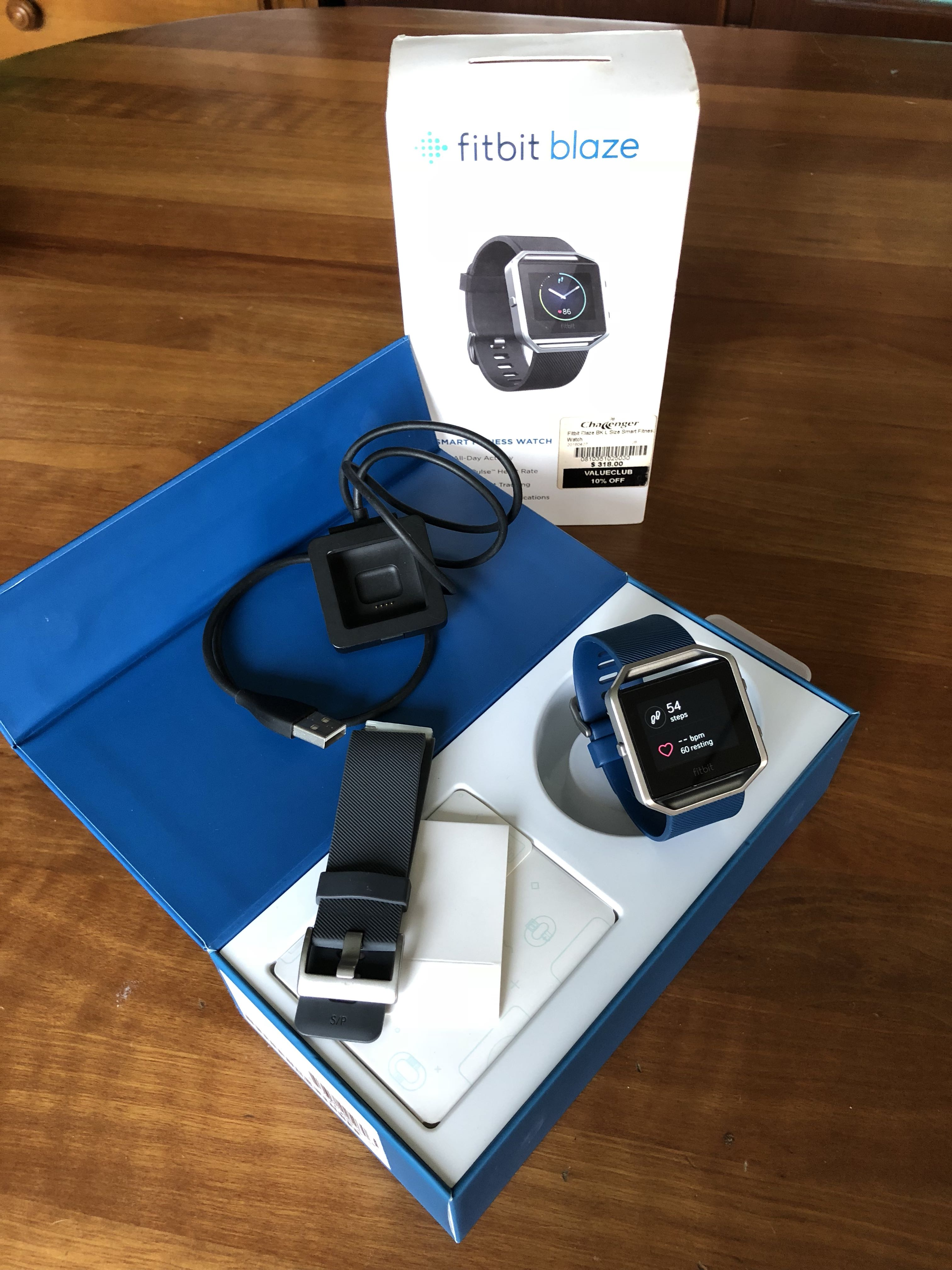 Fitbit Blaze For Sale Electronics Others On Carousell Alta Plum Size Large Photo