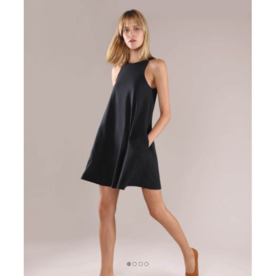 340480ae84bbd GRANA Pima Trapeze Dress in Jelly Bean GREEN - no longer available ...