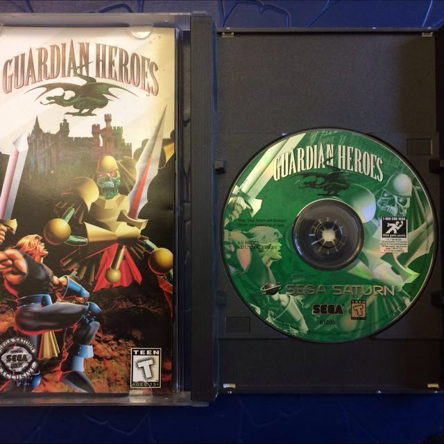 Guardian Heroes Sega Saturn CIB