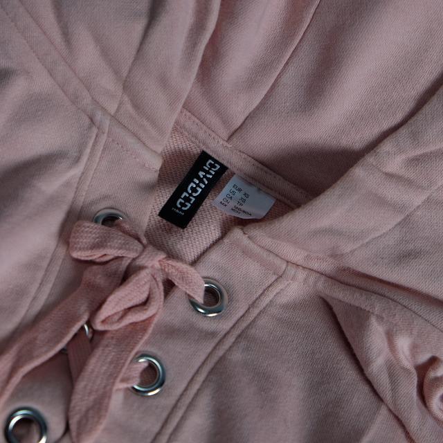 H&M Hoodie Sweater Pink