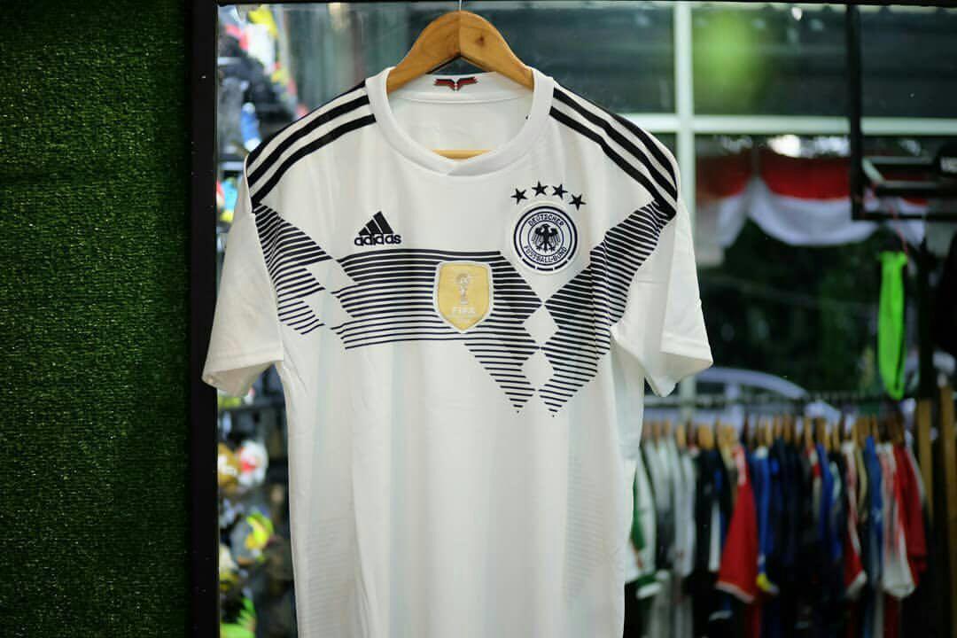c3a000194 Jersey Bola Jerman Home World Cup 2018 Grade Ori Thailand