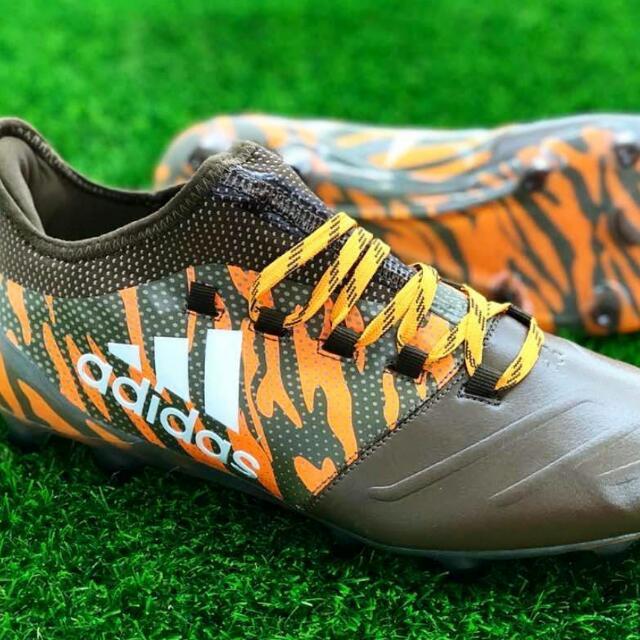 pretty nice b98f5 57da7 Kasut Boot Adidas X17.1 FG Leather Lone Hunter Pack