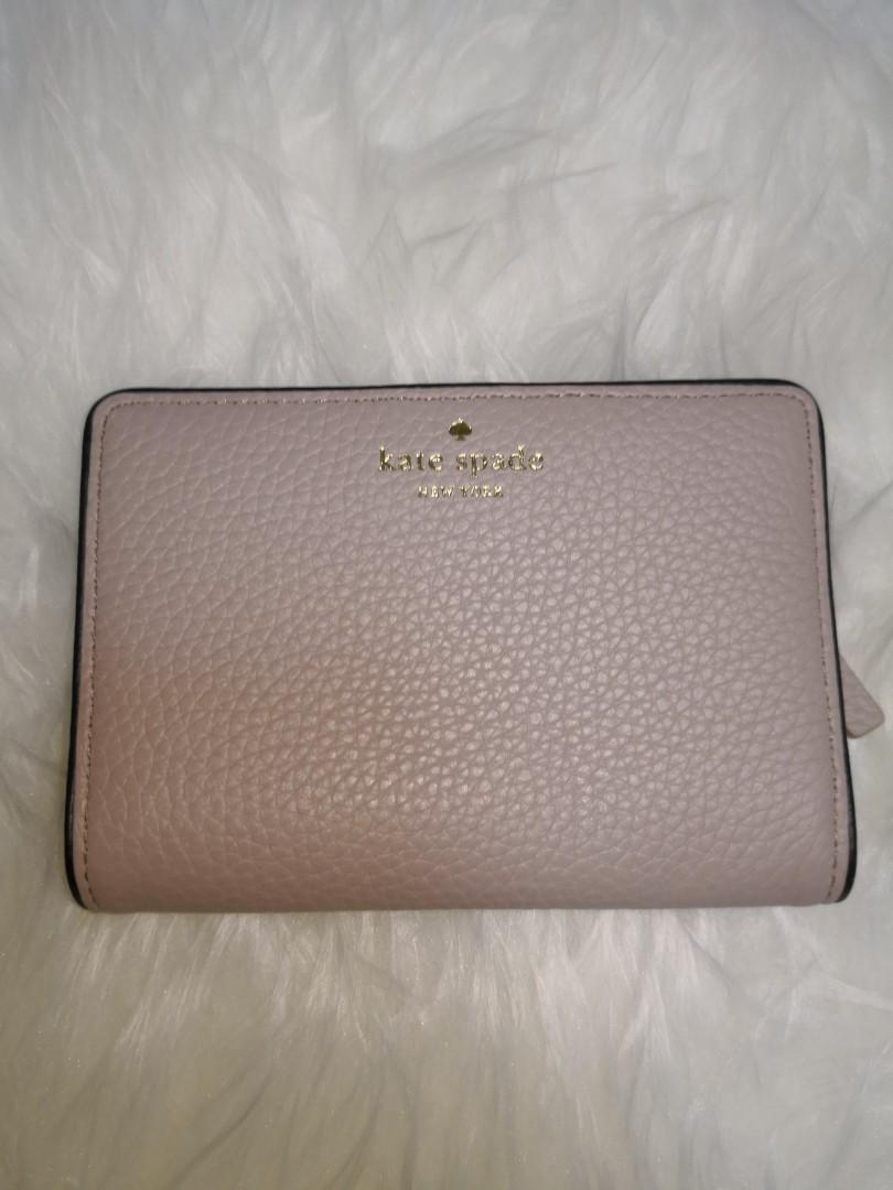 577eaa00538a0 Kate Spade Tellie Chester street Leather wallet Almondine   Black ...