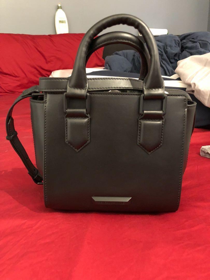 Kendall + Kylie mini brook top handle bag