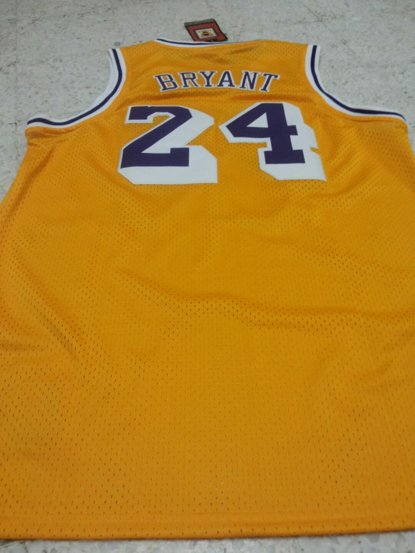 4a11233a2411 Kobe yellow jersey