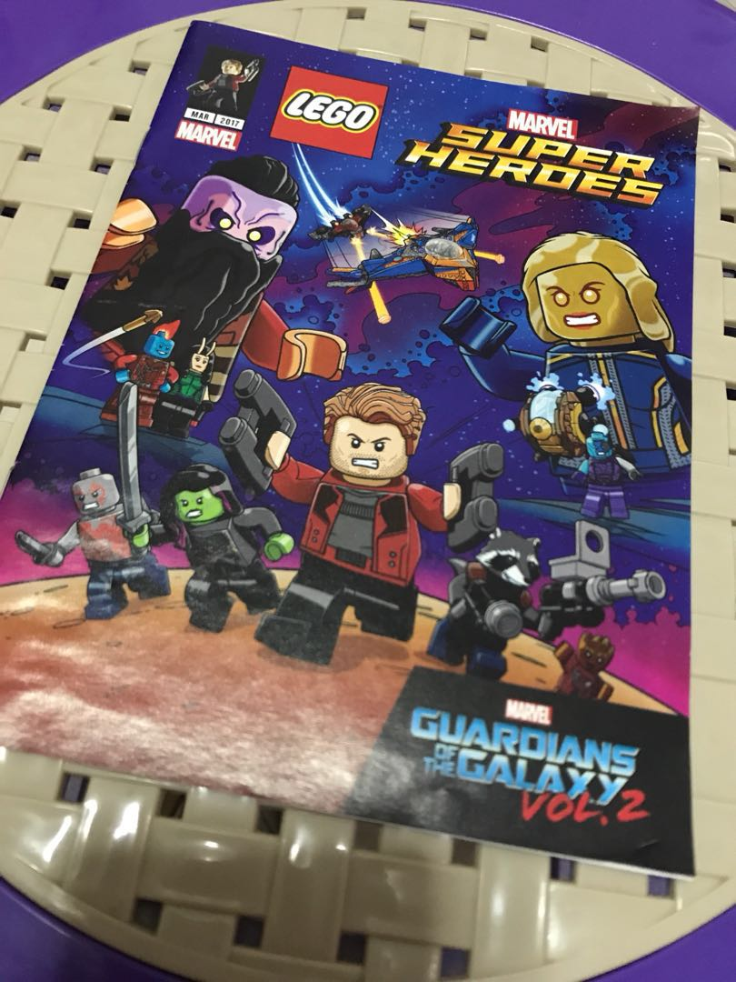 Lego Marvel Guardians of The Galaxy Vol  2 Comic
