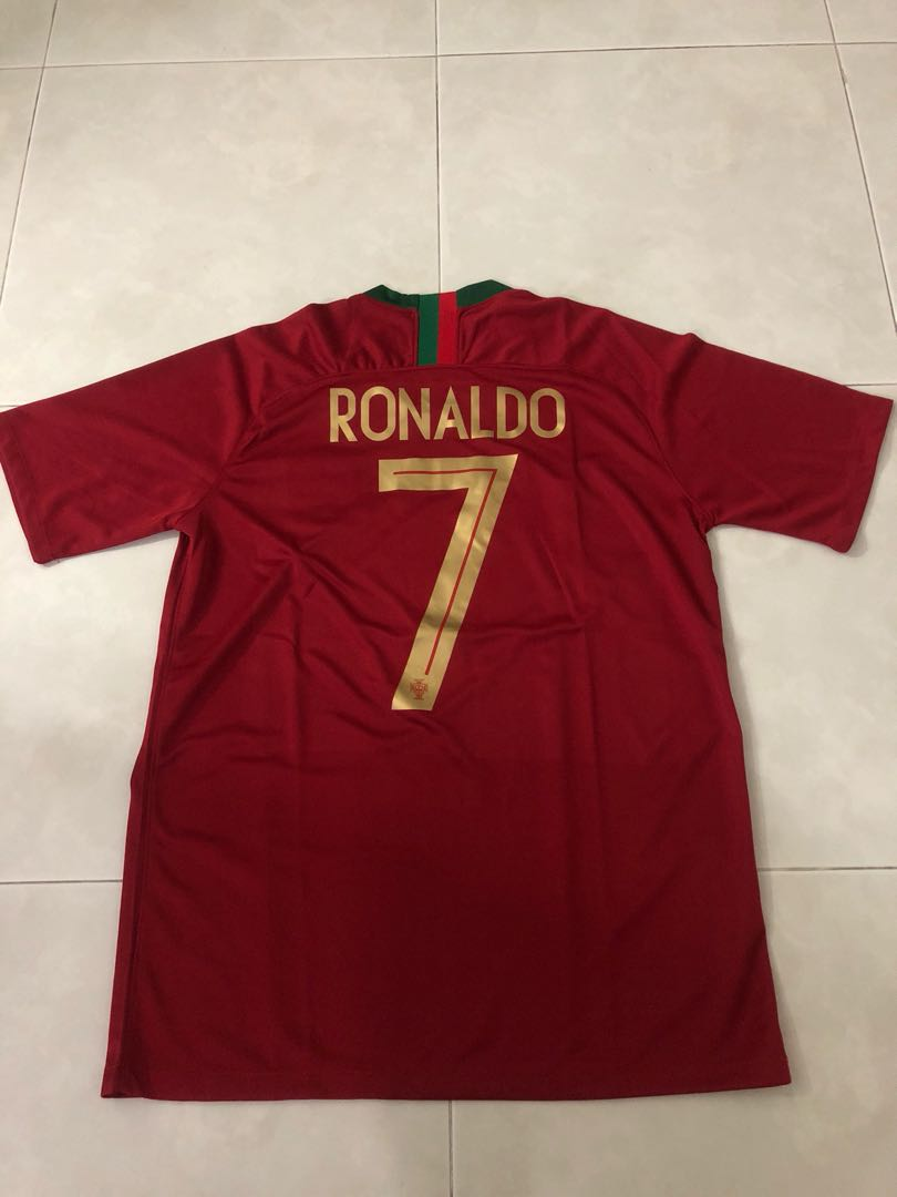 brand new 3ec48 57045 New 2018 Portugal World Cup Home Jersey M Size Ronaldo 7 ...