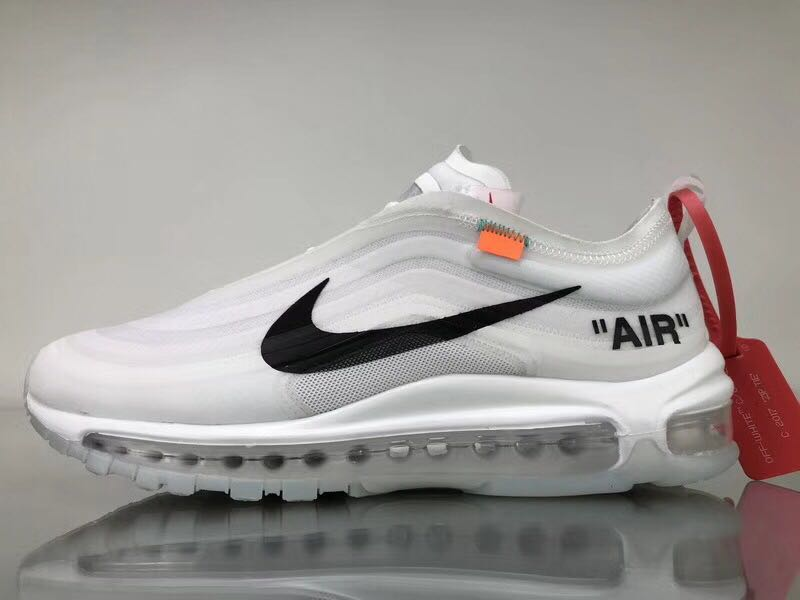 new style 30e20 792bc Off White X Nike Air Max 97, Luxury, Apparel on Carousell