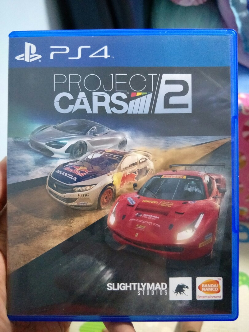 Project Cars 2 Ps4 Toys Games Video Gaming Video Games On Carousell