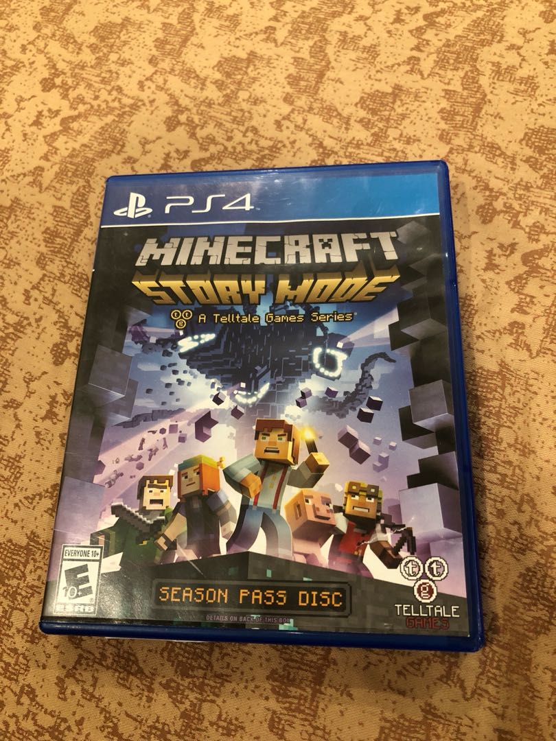 PS4 Minecraft Story Mode, Toys & Games, Video Gaming, Video