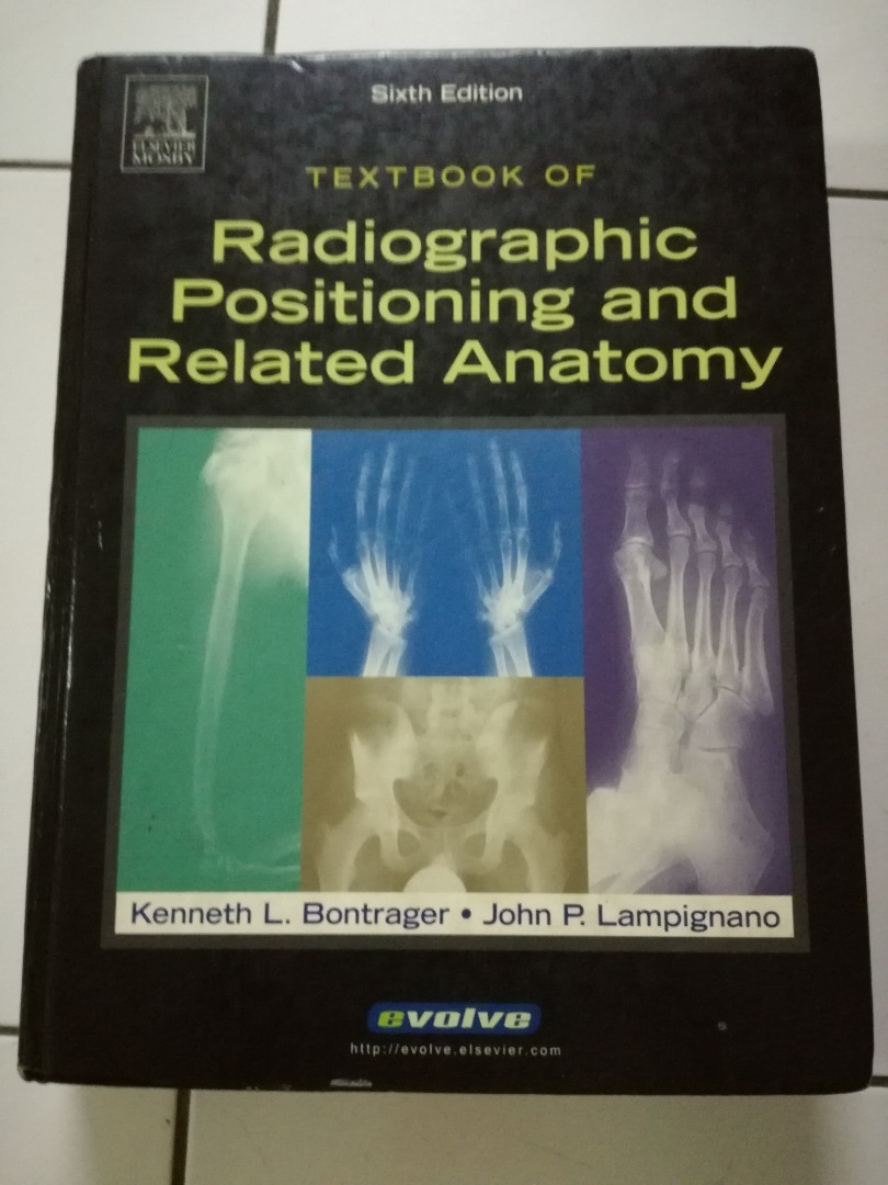 Radiographic Positioning and Related Anatomy, Textbooks on Carousell