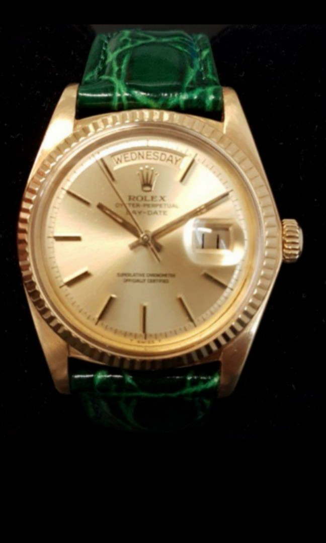 099b03a242c Rolex Day Date President Watch 18k 1803 on Carousell