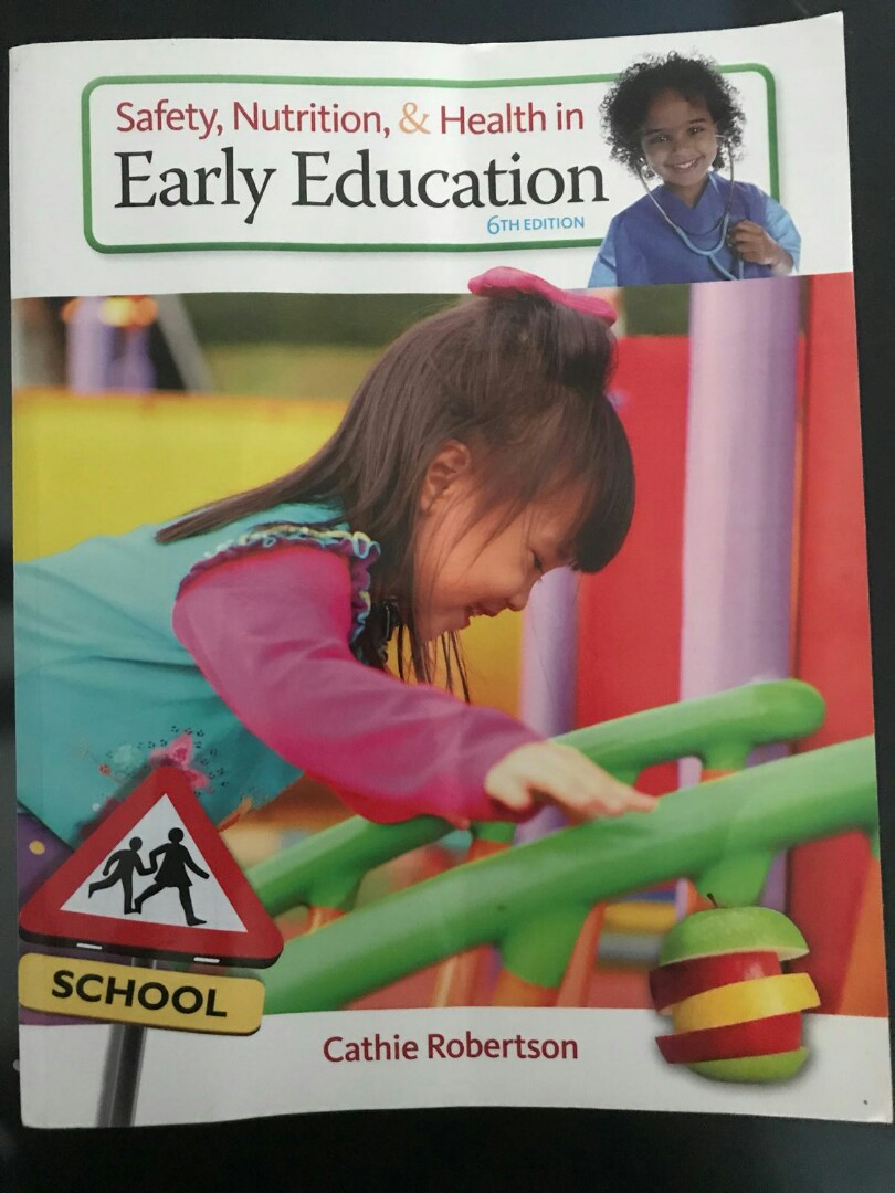 Safety Nutrition Health In Early Education Books Stationery
