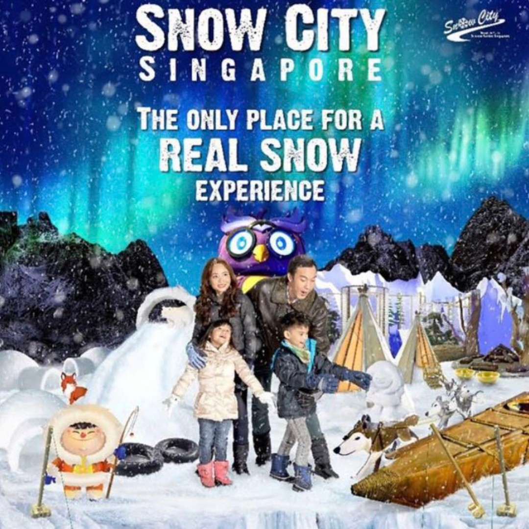 Snow City Singapore Admission E Tickets Entertainment Duck Tour Voucher Attractions On Carousell