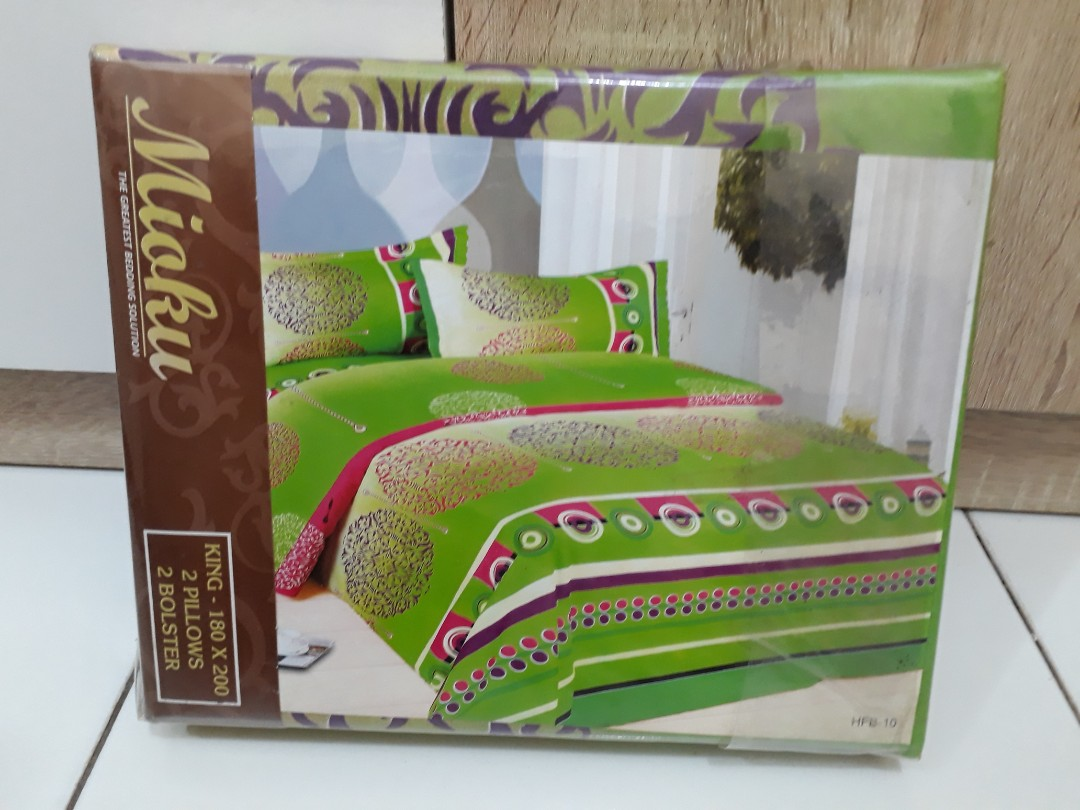 Sprei Mioku Home Furniture On Carousell Yuki Springbed Medium Comfort List 1 Ukuran 180