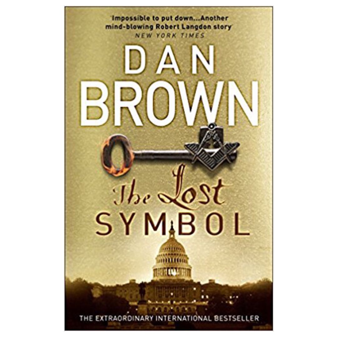 The Lost Symbol Robert Langdon 3 By Dan Brown Books Stationery