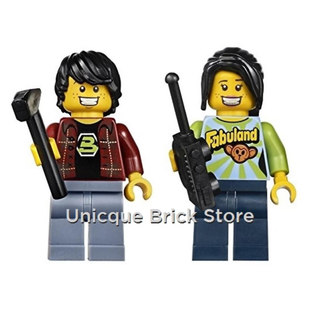 Unicque The Lego Movie Minifigure Blacktron Fan Fabu Fan