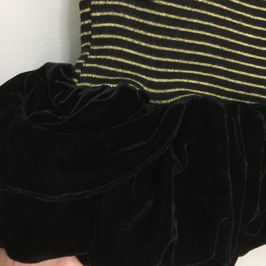 Valerie Black Velvet Bubble Balloon Shorts Womens Fashion Clothes Big Size Stripe Pants Navy 3xl Jeans On Carousell